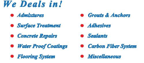 CHEMfix Construction Chemicals